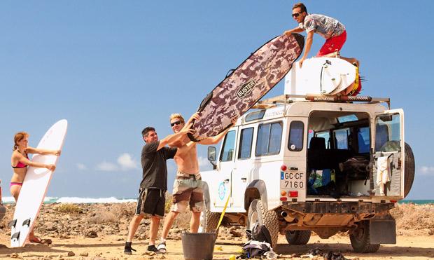 Guided Tours im ineika Surfcamp
