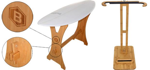 Geschenkidee Surfboard Ständer Rack
