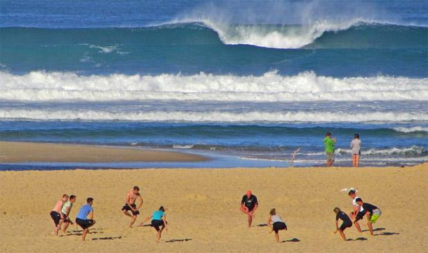 Wellenreiten lernen im Surfcamp