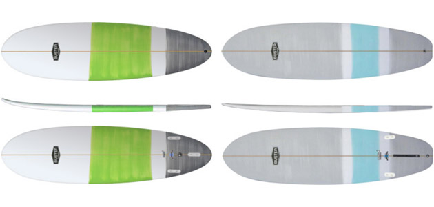 Surfboard Vergleich Egg Wombat