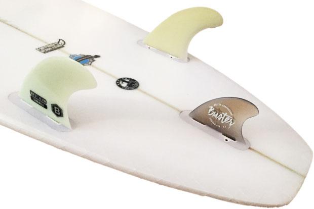 Surfboard Finnen Setup Eisbach Citywave