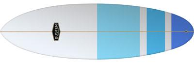 Surfboard Bullet Groveler Shape