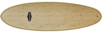 Wombat Surfboard Holz Bambus