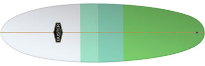 Surfboard Hybrid Retro