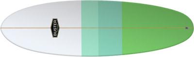 Retro Hybrid Surfboard
