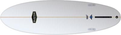 Retro Hybrid Surfboard Rocker