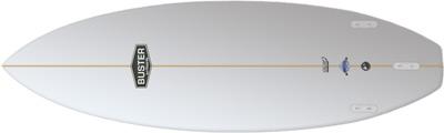 performance Shortboard Surfboard Bottom