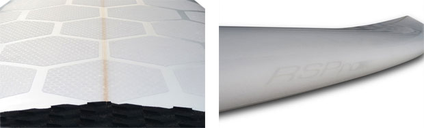 surfboard frontpad rail tape