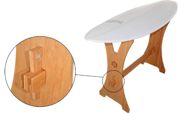 Surfboard Shape Bock
