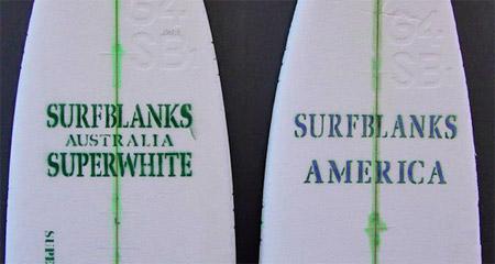 Surfboard Blanks