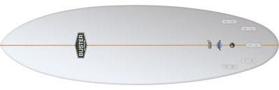 Groveler Hybrid Surfboard Shape Bottom Thruster Quad