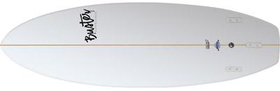 Riversurfboard 5'8 F Type bottom