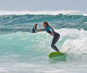 Sarah Opitz Ineika Surfboard Fuerteventura