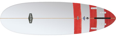 Pinnacle Surfboard Bottom