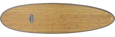 6'6 Egg Surfboard Wood