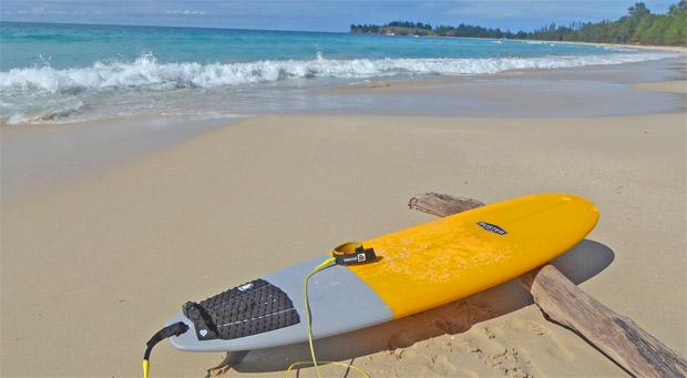 Wellenreiten uns Surfen Philippinen September