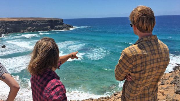 Wellenreiten uns Surfen Portugal September