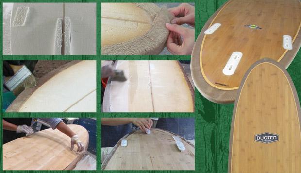 Holz Surfboards Herstellung