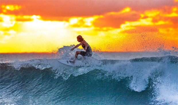 Wellenreiten Südafrika