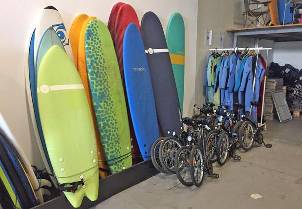 Indie Campers Surfboard Verleih