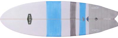 Fish Surfboard Bottom
