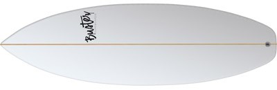 Surfboard Citywave Unit Wave 5'4 P-Type