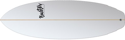 Buster Riversurfboard double Wing Tail Top