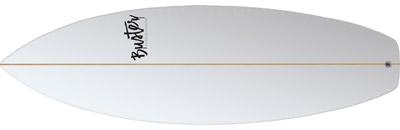 Pool / Riversurfboard 5'4 C Type Classic