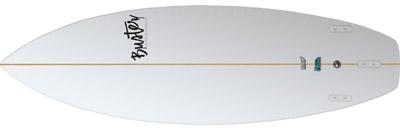 Riversurfboard 5'4 C Type Classic Bottom