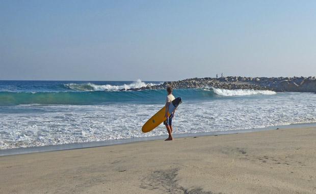 Surfen Wellenreiten Juni Spanien