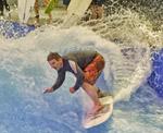 Schwerer Surfer Citywave Jochen Schweizer Arena