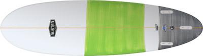 Egg Surfboard Bottom