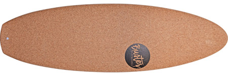 Kork Surfboard Oberseite