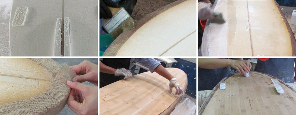 Holz Bambus Surfboards