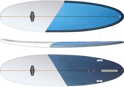 Mid Length Surfboard Shape