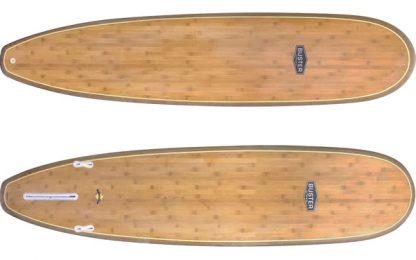 mini malibu surfboards bambus holz top bottom