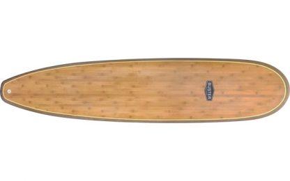 Mini Malibu Surfboard Holz Bambus Top