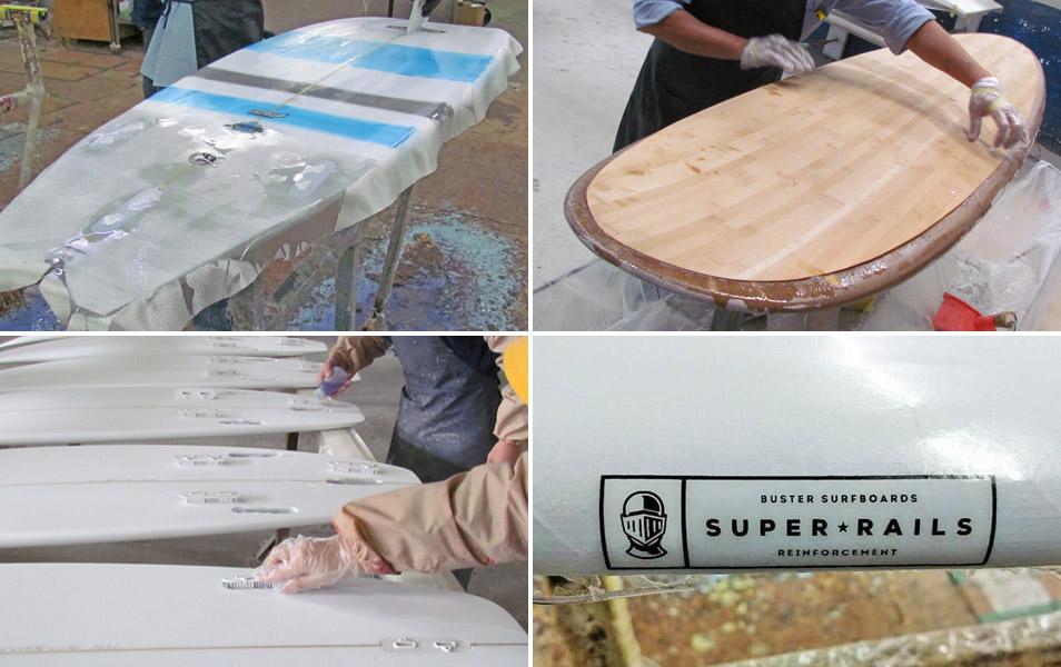 Surfboard Bauweisen Technologie