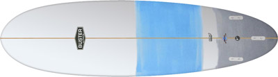 Micro Egg Surfboard Bottom