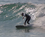 Bottom Turn Mid Lenght Shape Surfboard