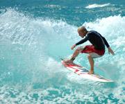 Fish Surfboard auf Fuerteventura