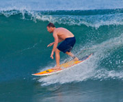 Hybrid Surfboard in Mexico