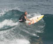 Hybrid Surfboard Sigi Opitz Bali