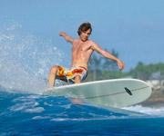 Mini Malibu Surfboard Malediven