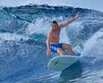 Surfboard Turn Malediven