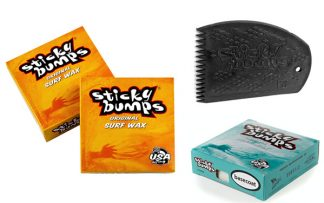 Surfboard Wax warmes Wasser Set
