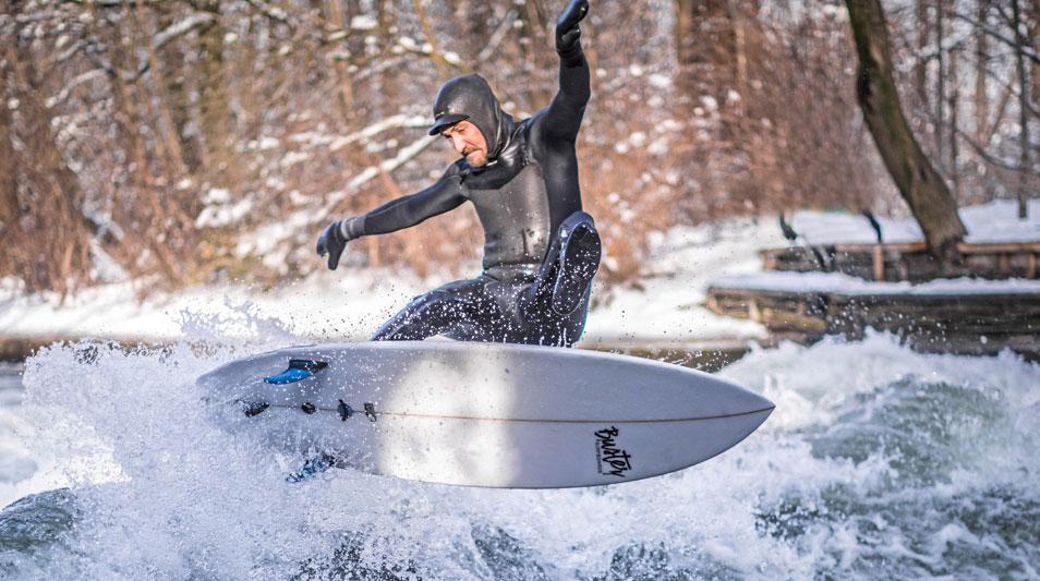 Eisbach München Surfboard