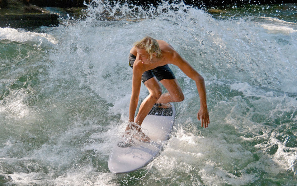 Eisbach Surfer Sommer Softboard