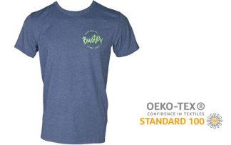 Buster Surfboard Brand T-Shirt blau