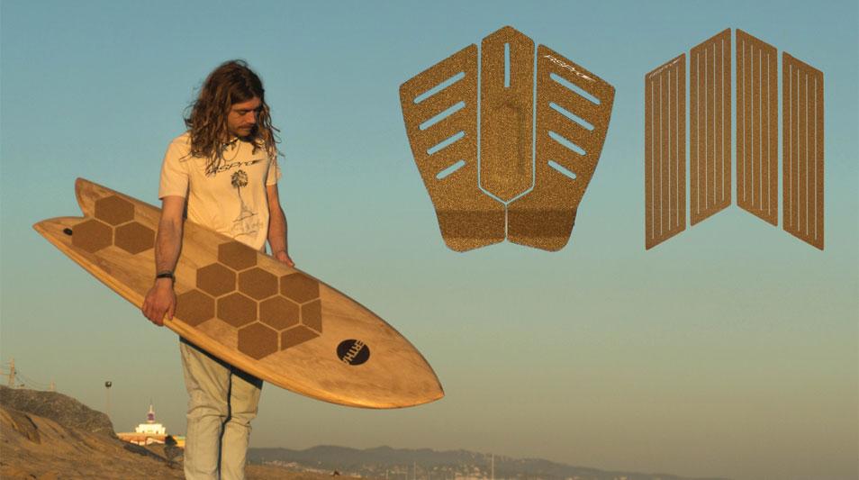 Kork Tailpad Footpad Surfboard